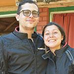 Xavier Orgambide y Micaela Castillo